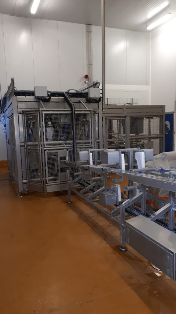 machine de production agro-alimentaire